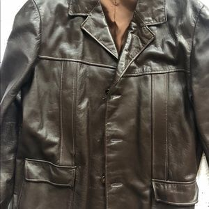 Other - MENS LEATHER JACKET, MADE IN ISREAL SIZE 52